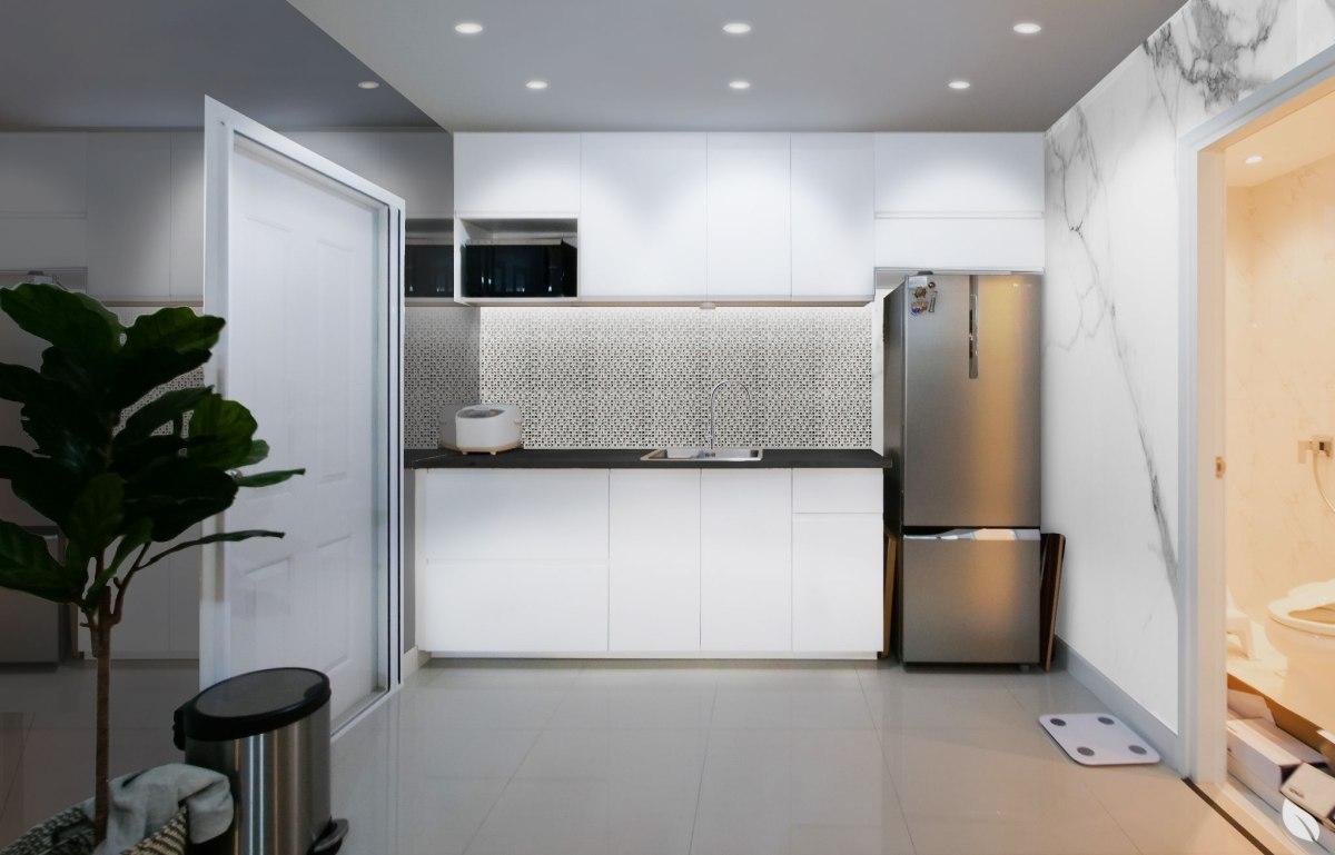 รีโนเวทครัว ให้สวยหรูสไตล์ Modern Luxury แบบจบงานไว ไม่กระทบโครงสร้างเดิม 15 - jorakay