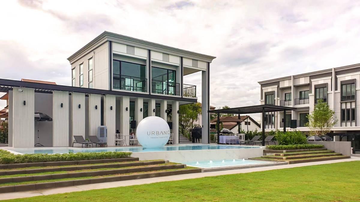 รีวิว URBANIO วิภาวดี-แจ้งวัฒนะ พรีเมียมทาวน์โฮม 3 ชั้นสุดสวย ใกล้สถานี Interchange เริ่ม 5.59 ล้าน จาก Ananda 118 - Premium