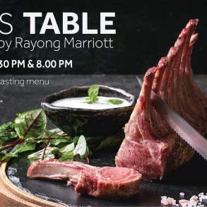 CHEF'S TABLE EXPERIENCE BY RAYONG MARRIOTT 18 -