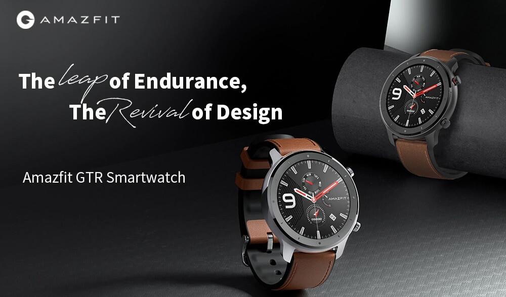 "Amazfit GTR : Smart Watch หน้าปัทม์จอ AMOLED ""วัดหัวใจบันทึกชีพจรและจำนวนก้าวตลอดเวลา"" แบตอึดสุด 24 วัน! 19 - Highlight"