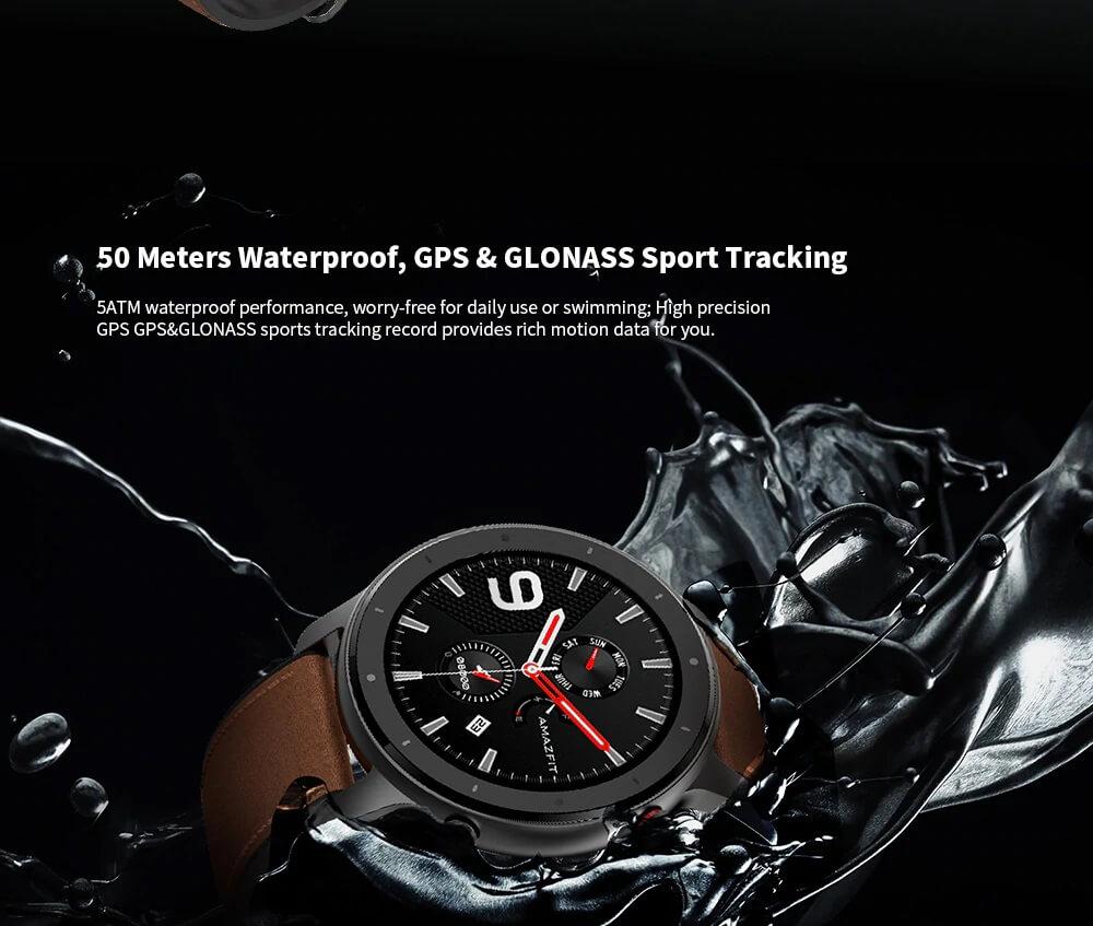 "Amazfit GTR : Smart Watch หน้าปัทม์จอ AMOLED ""วัดหัวใจบันทึกชีพจรและจำนวนก้าวตลอดเวลา"" แบตอึดสุด 24 วัน! 33 - Highlight"