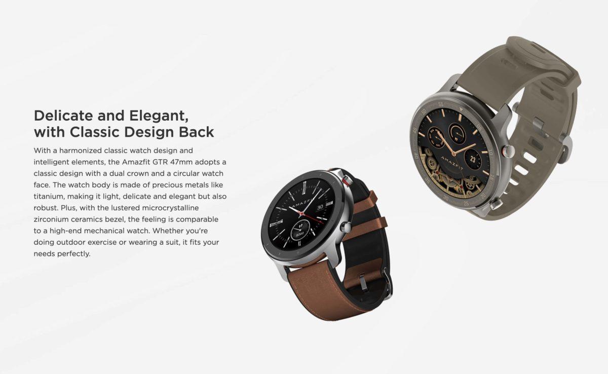 "Amazfit GTR : Smart Watch หน้าปัทม์จอ AMOLED ""วัดหัวใจบันทึกชีพจรและจำนวนก้าวตลอดเวลา"" แบตอึดสุด 24 วัน! 25 - Highlight"