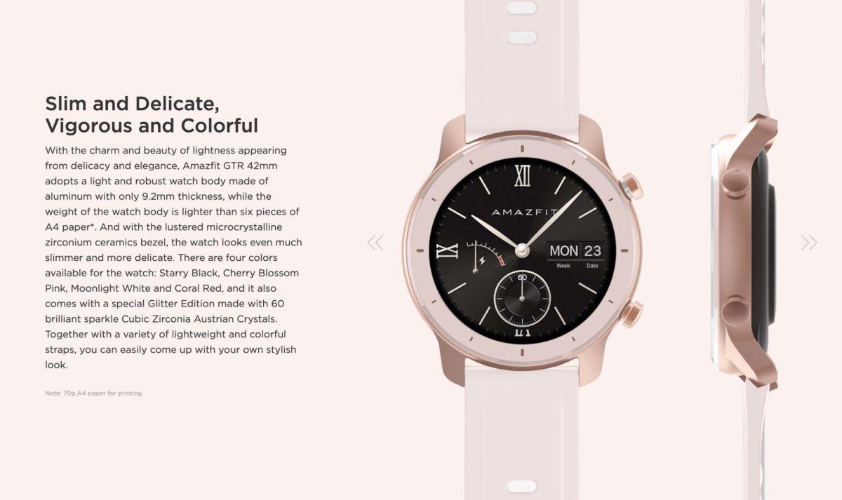 "Amazfit GTR : Smart Watch หน้าปัทม์จอ AMOLED ""วัดหัวใจบันทึกชีพจรและจำนวนก้าวตลอดเวลา"" แบตอึดสุด 24 วัน! 26 - Highlight"