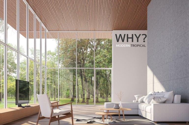 5 เหตุผลว่าทำไมบ้านสไตล์ Modern Tropical ถึงฮิตสุดๆ 14 - ตกแต่งบ้าน