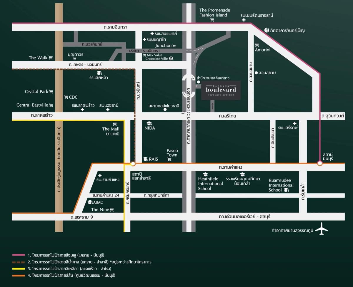 รีวิว บางกอก บูเลอวาร์ด รามอินทรา-เสรีไทย 2 <br>บ้านเดี่ยวสไตล์ Luxury Nordic เพียง 77 ครอบครัว</br> 16 - Boulevard