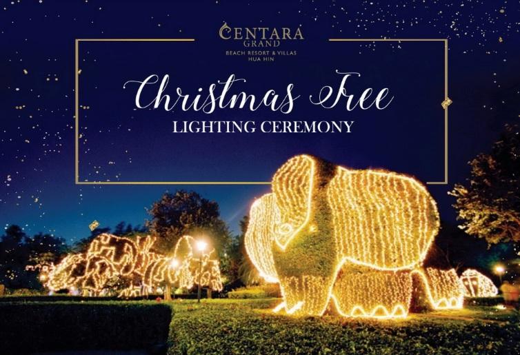 ฉลองเปิดไฟต้นคริสต์มาสต้อนรับเทศกาลแห่งความสุข พร้อมความงดงามดุจดินแดนเทพนิยาย ณ โรงแรมเซ็นทาราแกรนด์ หัวหิน 13 -