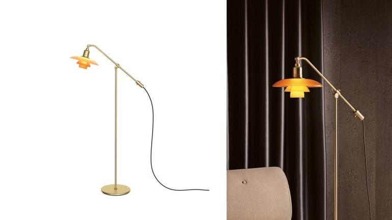 โคมไฟตั้งพื้น รุ่นลิมิเต็ด เอดิชั่น PH 3/2 โคมแก้วสีอำพัน การผสมผสานเอกลักษณ์แห่งงานศิลปะของ Poul Henningsen 13 -