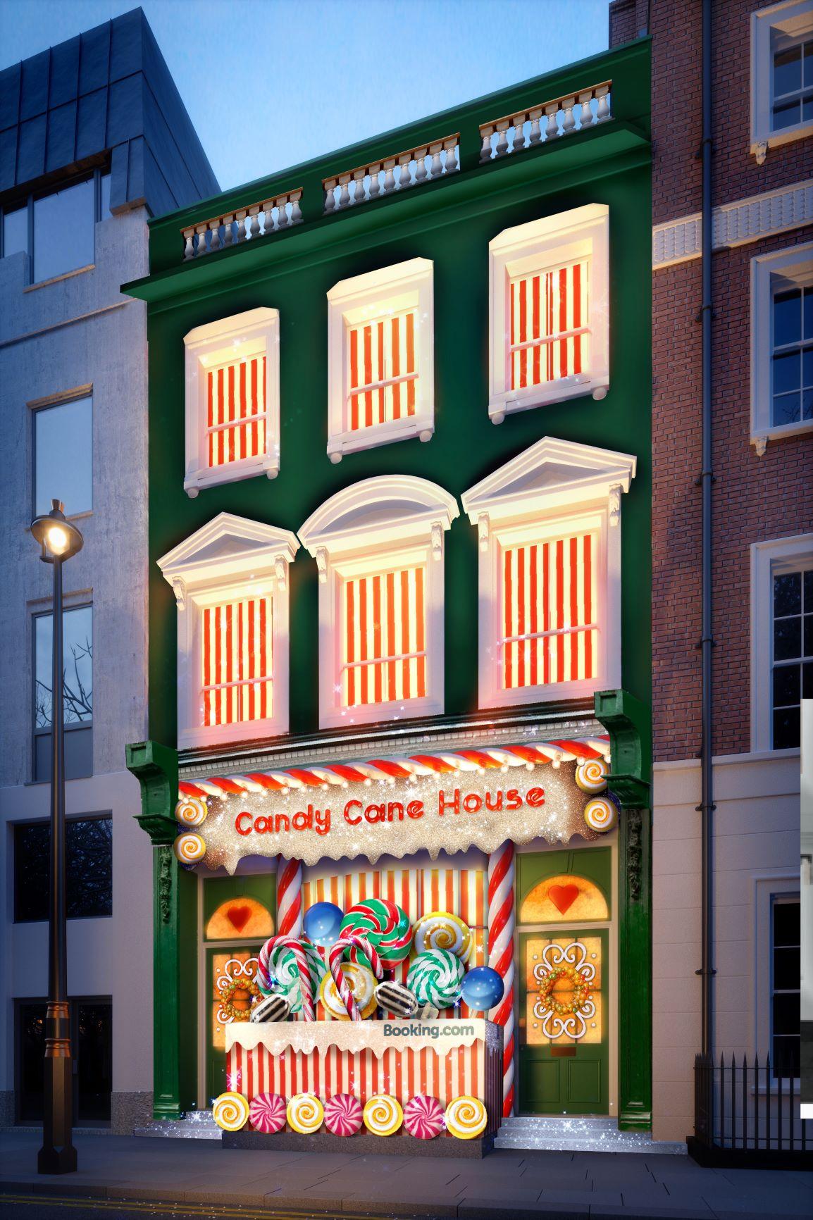 Booking.com เปิดตัว Candy Cane House ที่พักที่หวานที่สุดเท่าที่เคยมีมา 19 - Booking.com
