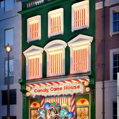 Booking.com เปิดตัว Candy Cane House ที่พักที่หวานที่สุดเท่าที่เคยมีมา 15 - Booking.com