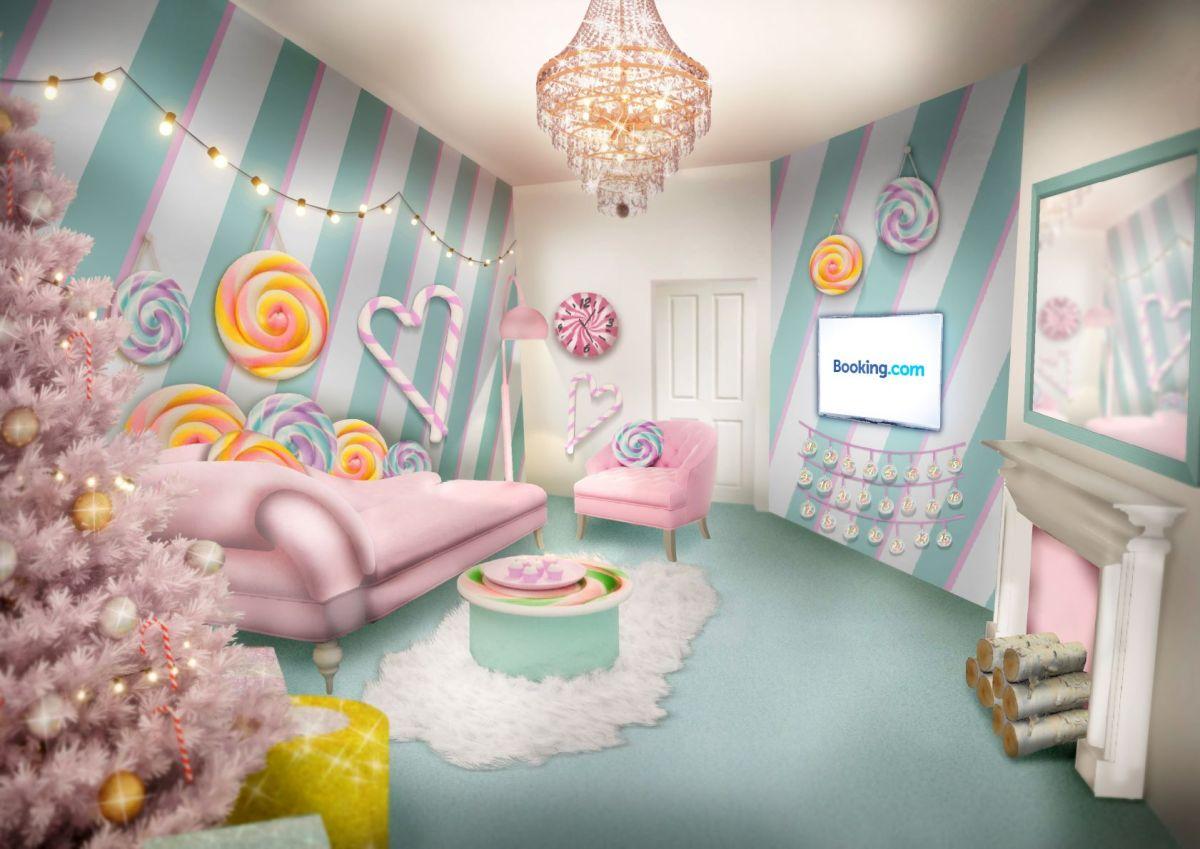 Booking.com เปิดตัว Candy Cane House ที่พักที่หวานที่สุดเท่าที่เคยมีมา 14 - Booking.com