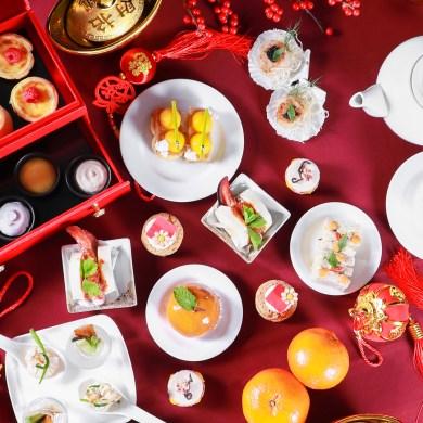 """ดื่มด่ำอรรถรสเสน่ห์แห่งชุดน้ำชายามบ่ายที่ได้รับแรงบันดาลใจจากรสชาติฝั่งตะวันออก """"Orient Afternoon Tea"""" เพื่อร่วมฉลองเทศกาลตรุษจีนต้อนรับปีหนู ณ เดอะ เซนต์ รีจิส กรุงเทพฯ 14 -"""