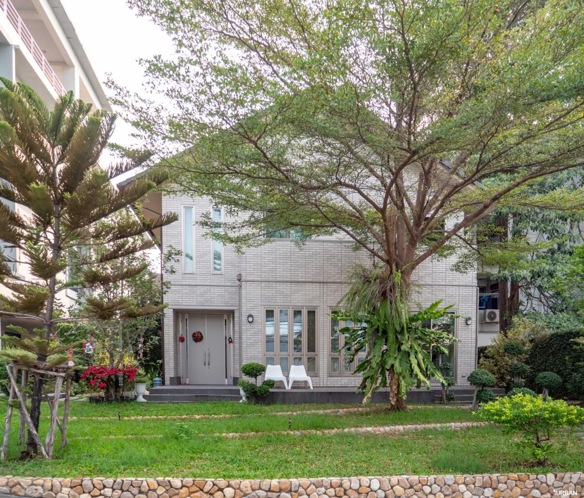หน้าบ้าน SCG Heim ที่คุณนพพรเป็นคนออกแบบ