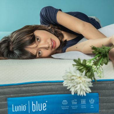 """Lunio เปิดตัวที่นอนใหม่ """"Lunio Blue"""" ที่นอนสปริงเสริมยางพารา ในราคาจับต้องได้ 14 -"""