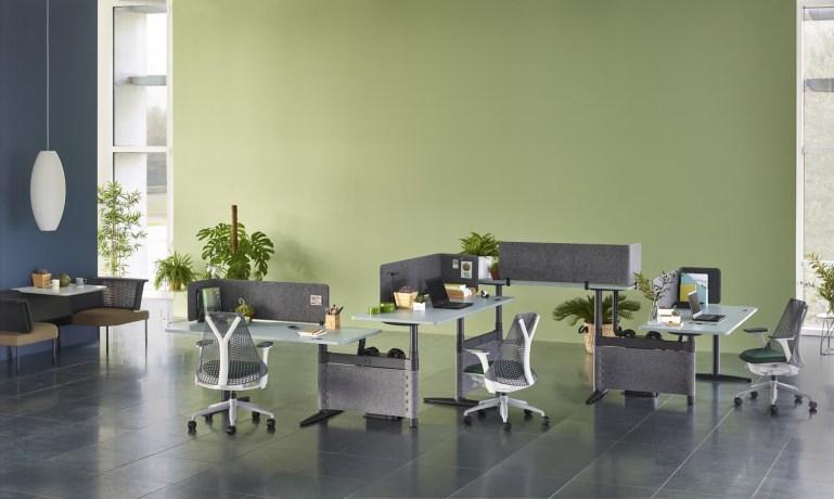 Herman Miller เปิดตัวชุดโต๊ะทำงานรุ่นล่าสุด Atlas Office Landscape ช่วยเพิ่มประโยชน์ใช้สอยอย่างสร้างสรรค์และชาญฉลาด 13 - Herman Miller