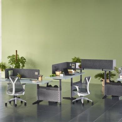 Herman Miller เปิดตัวชุดโต๊ะทำงานรุ่นล่าสุด Atlas Office Landscape ช่วยเพิ่มประโยชน์ใช้สอยอย่างสร้างสรรค์และชาญฉลาด 14 - Herman Miller