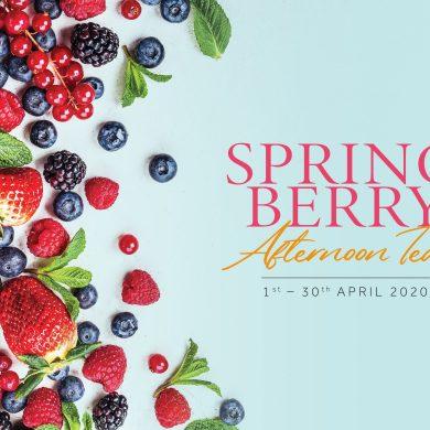"""ลิ้มรสเบอร์รี่แสนสดชื่นกับชุดน้ำชายามบ่าย """"Spring Berry Afternoon Tea"""" ณ โรงแรมแบงค็อก แมริออท มาร์คีส์ ควีนส์ปาร์ค 15 -"""