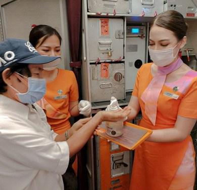 ไทยสมายล์ เพิ่มมาตรการดูแลผู้โดยสาร ป้องกันไวรัส COVID-19 ในทุกเที่ยวบิน 14 -