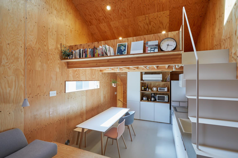 บ้านกล่องนม Milk Carton House ณ Tokyo หน้ากว้างเพียง 3.5 เมตร แต่สเปซภายในครบครัน 23 - Akihide MISHIMA