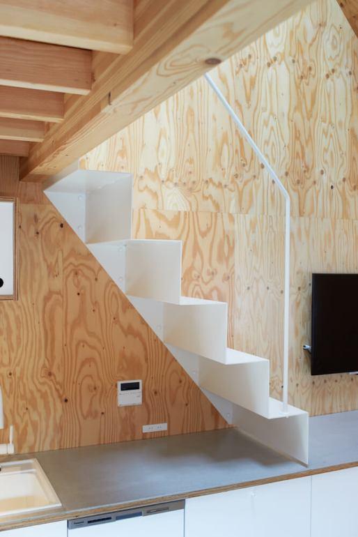 บ้านกล่องนม Milk Carton House ณ Tokyo หน้ากว้างเพียง 3.5 เมตร แต่สเปซภายในครบครัน 32 - Akihide MISHIMA
