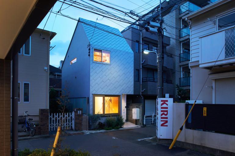 บ้านกล่องนม Milk Carton House ณ Tokyo หน้ากว้างเพียง 3.5 เมตร แต่สเปซภายในครบครัน 44 - Akihide MISHIMA