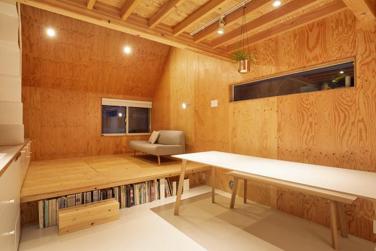 บ้านกล่องนม Milk Carton House ณ Tokyo หน้ากว้างเพียง 3.5 เมตร แต่สเปซภายในครบครัน 42 - Akihide MISHIMA