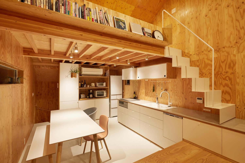 บ้านกล่องนม Milk Carton House ณ Tokyo หน้ากว้างเพียง 3.5 เมตร แต่สเปซภายในครบครัน 26 - Akihide MISHIMA