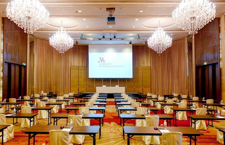 การจัดประชุมและสัมมนารูปแบบใหม่ ณ โรงแรมแมริออท กรุงเทพฯ สุขุมวิท 13 -