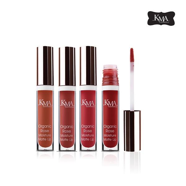 4 เฉดสีใหม่ Organic Rose Moisture Matte Lip 13 -