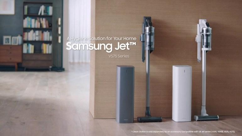 ซัมซุง เปิดตัวเครื่องดูดฝุ่นไร้สาย Samsung Jet™ รุ่นใหม่และเครื่อง Clean Station™ โซลูชั่นความสะอาดใที่ทรงพลัง เพื่อสุขอนามัยที่ดียิ่งกว่า 13 - samsung