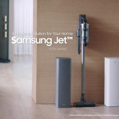 ซัมซุง เปิดตัวเครื่องดูดฝุ่นไร้สาย Samsung Jet™ รุ่นใหม่และเครื่อง Clean Station™ โซลูชั่นความสะอาดใที่ทรงพลัง เพื่อสุขอนามัยที่ดียิ่งกว่า 15 - samsung