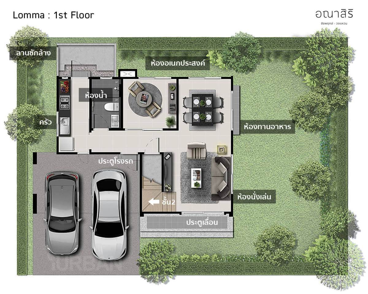 รีวิว อณาสิริ ชัยพฤกษ์-วงแหวน เมื่อแสนสิริออกแบบบ้านใหม่ Feel Just Right ใช้งานได้ลงตัว 29 - Anasiri