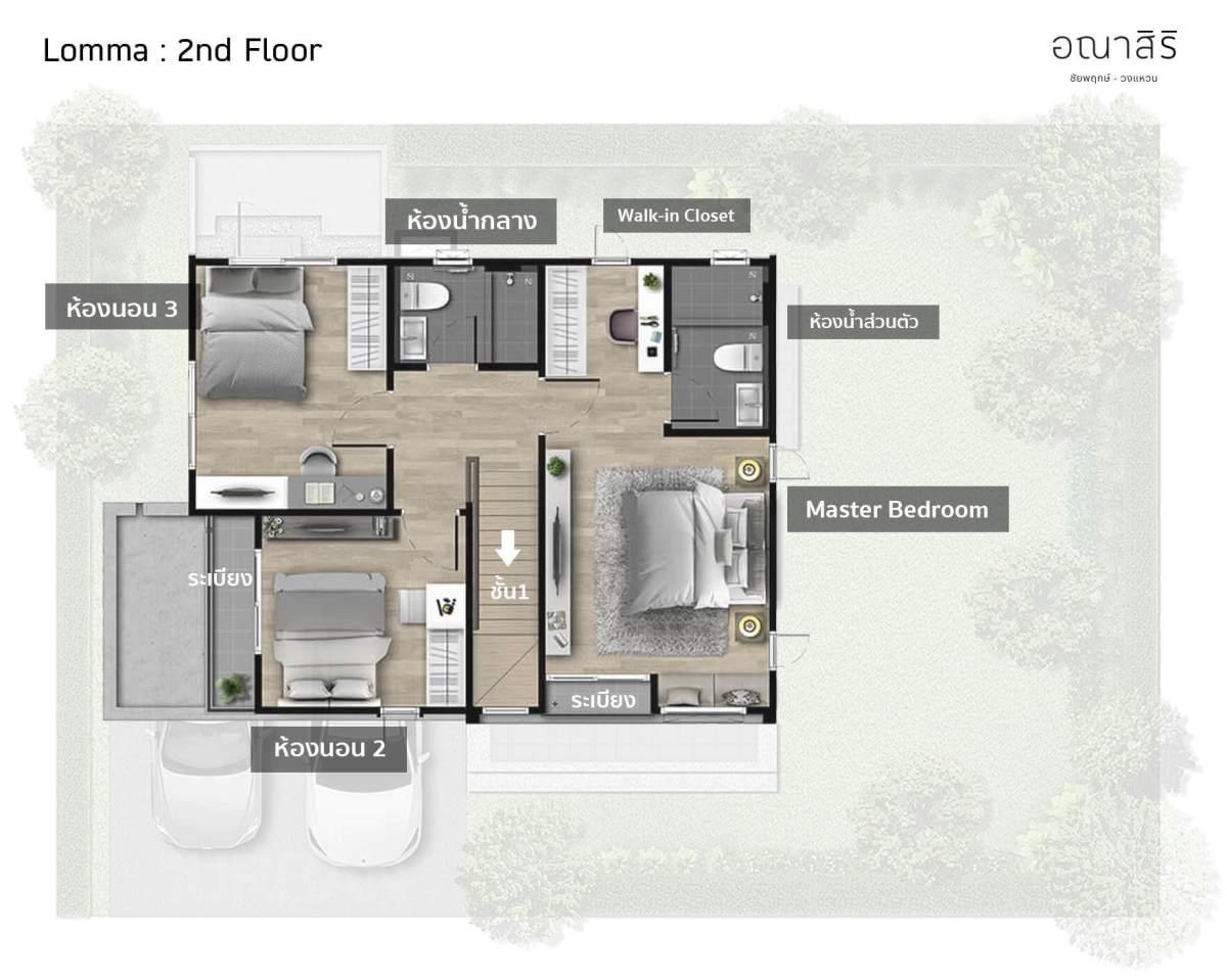 รีวิว อณาสิริ ชัยพฤกษ์-วงแหวน เมื่อแสนสิริออกแบบบ้านใหม่ Feel Just Right ใช้งานได้ลงตัว 49 - Anasiri