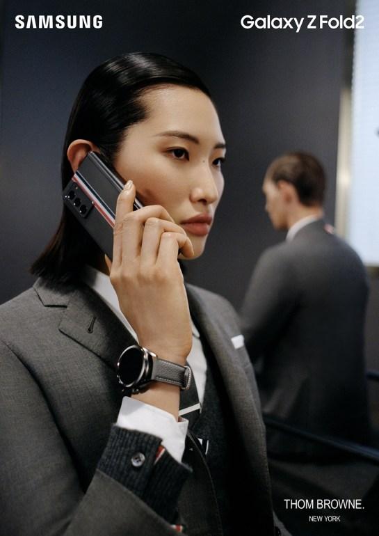 Sold-out ภายใน 1 วัน! 'Galaxy Z Fold2 Thom Browne Edition' 14 - samsung
