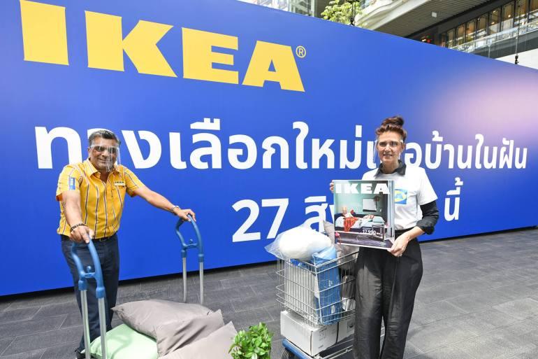 แคตตาล็อกอิเกียเล่มใหม่ เผยแนวคิดพลิกโฉมบ้านพื้นที่จำกัดสู่โซลูชั่นจัดการพื้นที่อัจฉริยะ 16 - IKEA