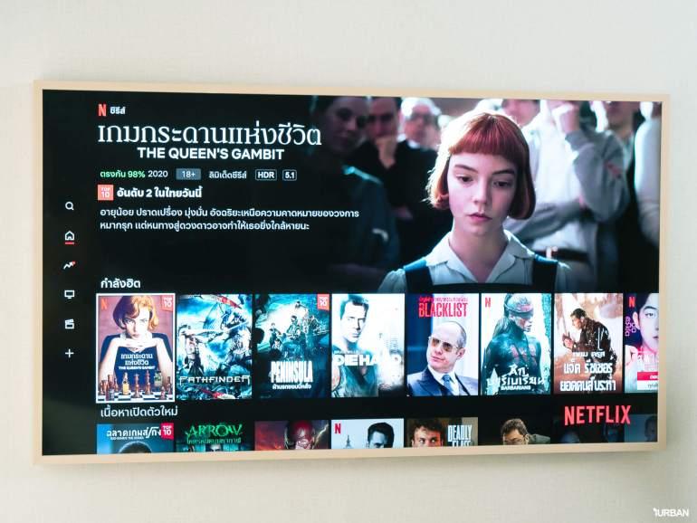 รีวิว 3 ทีวีที่สวยที่สุดเจนเนอเรชั่นนี้ The Frame The Serif และ The Sero 18 - decor