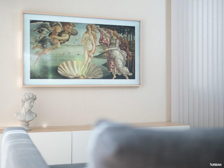 รีวิว 3 ทีวีที่สวยที่สุดเจนเนอเรชั่นนี้ The Frame The Serif และ The Sero 17 - decor