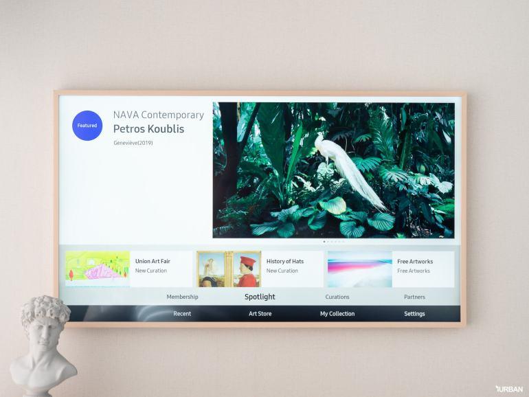 รีวิว 3 ทีวีที่สวยที่สุดเจนเนอเรชั่นนี้ The Frame The Serif และ The Sero 36 - decor