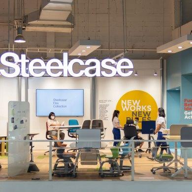 โมเดอร์นฟอร์มเปิด Steelcase Flagship Store แห่งแรกในไทย เชิญสัมผัสนวัตกรรมที่ช่วยเพิ่มประสิทธิภาพการทำงานของ Steelcase พร้อมเปิดตัวเฟอร์นิเจอร์ที่ตอบโจทย์คนทำงานยุคใหม่  16 -