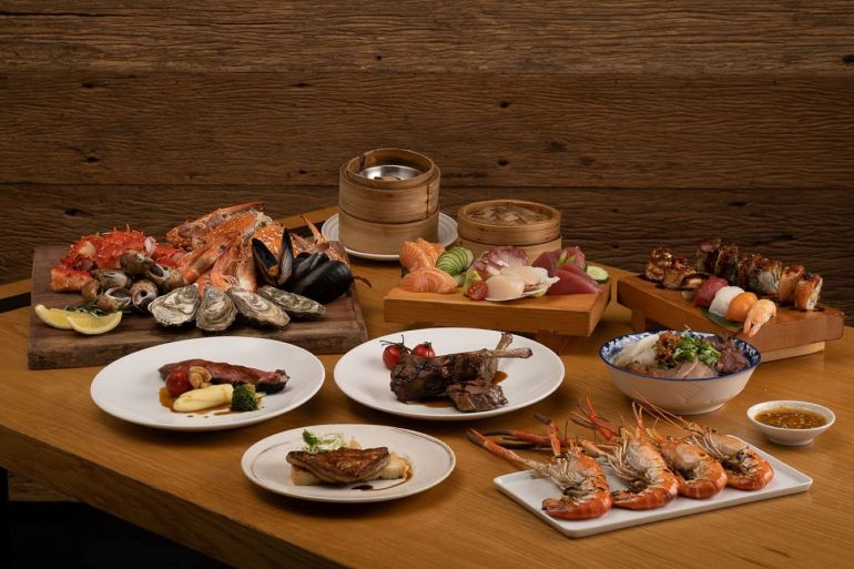 Weekday Buffets are Back at Goji Kitchen + Bar, for a Special Promotional price of THB 999! 13 -