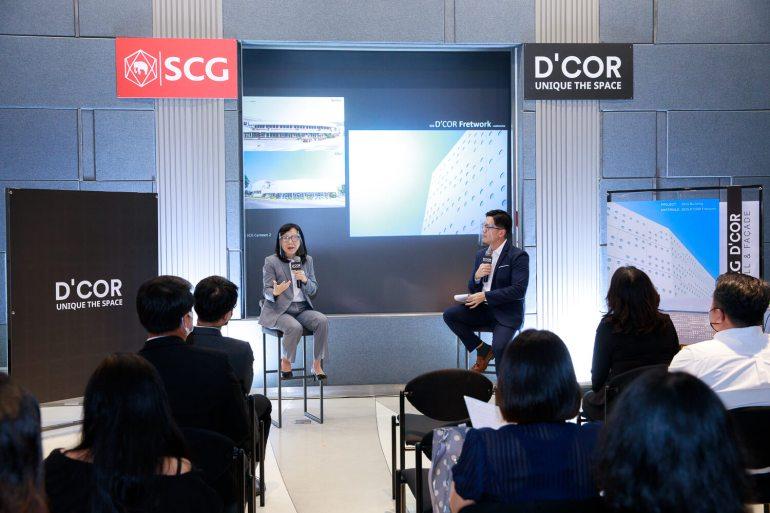 SCG รุกตลาดสินค้าตกแต่ง-บริการครบวงจร ชูไฮไลท์ SCG D'COR Facade Solution 14 - Design