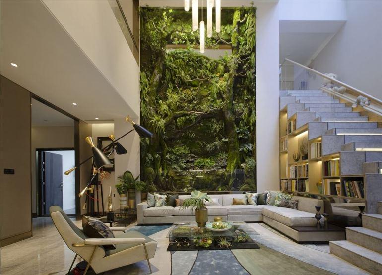 แต่งบ้านแบบ Biophilic Design เมื่อเราทันสมัยจนต้องใคว่คว้าหาธรรมชาติ 22 - Biophilic