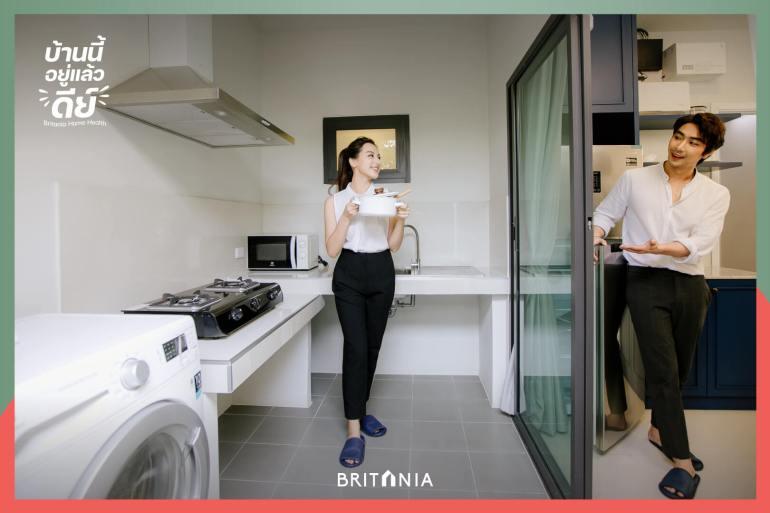 """""""บริทาเนีย"""" เปิดแคมเปญ """"บ้านนี้อยู่แล้วดีย์"""" จัดเต็ม Living Solution ด้วยฟังก์ชันและบริการเสริมใส่ใจสุขภาพ 22 - BRITANIA"""