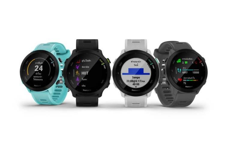 """""""การ์มิน"""" พลิกโฉมนิยามใหม่ของนาฬิกาวิ่ง เปิดตัว """"FORERUNNER 55"""" จีพีเอส สมาร์ทวอทช์ ที่พร้อมสนับสนุนให้การวิ่งเป็นนิวแฮบิท 17 - Garmin"""