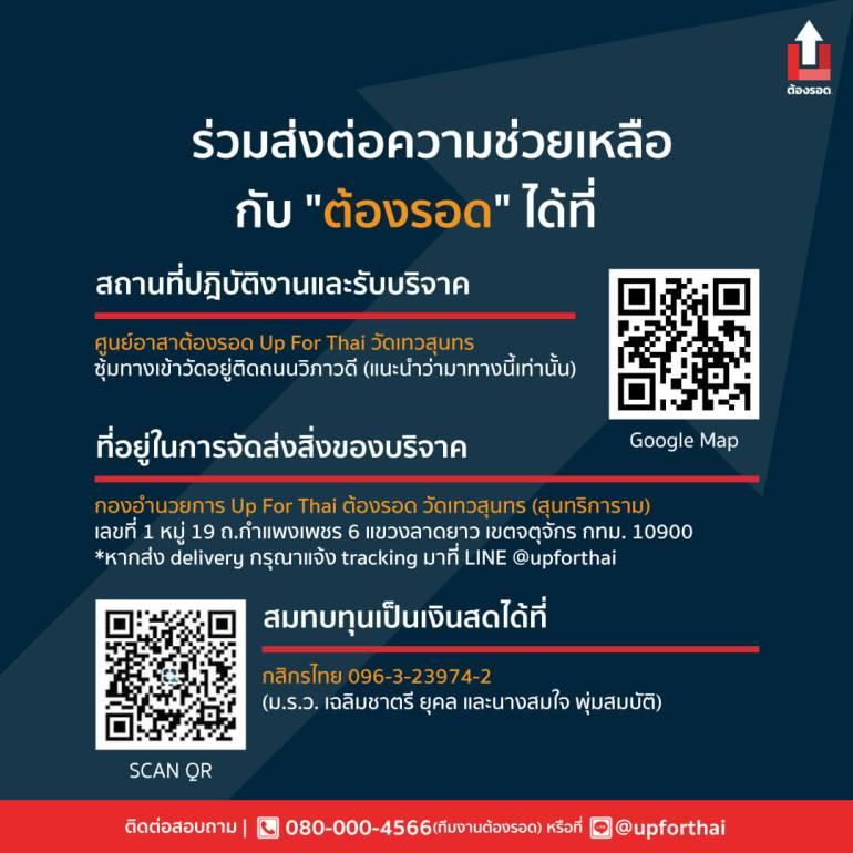 บัตรเครดิต JCB เสริมทัพช่วยวิกฤต COVID-19 ผ่านโครงการต้องรอด โดยกลุ่ม Up for Thai สนับสนุนวัตถุดิบและสิ่งของจำเป็น เพื่อแจกจ่ายไปยังผู้ที่ได้รับผลกระทบจากการแพร่ระบาดของ COVID-19 13 -