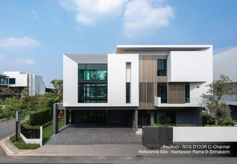 ใส่ใจทุกรายละเอียด เพื่อให้บ้านสวยเนี้ยบ ทางเลือกเพื่อบ้านเรียบร้อย กับ SCG D'COR Trim 13 - SCG (เอสซีจี)