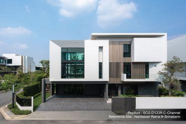 ใส่ใจทุกรายละเอียด เพื่อให้บ้านสวยเนี้ยบ ทางเลือกเพื่อบ้านเรียบร้อย กับ SCG D'COR Trim 17 - SCG (เอสซีจี)