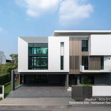 ใส่ใจทุกรายละเอียด เพื่อให้บ้านสวยเนี้ยบ ทางเลือกเพื่อบ้านเรียบร้อย กับ SCG D'COR Trim 14 - SCG (เอสซีจี)