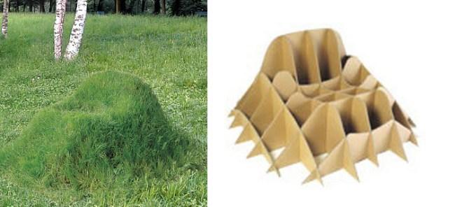 """ทำ """"เก้าอี้หญ้า"""" จาก """"ทราย"""" ไม่ใช้แล้ว ไอเดียตกแต่งสวนง่ายๆ แถมได้ประโยชน์ 3 -"""