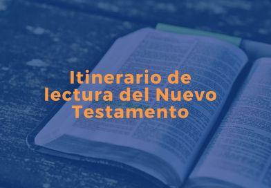 Itinerario de lectura del Nuevo Testamento
