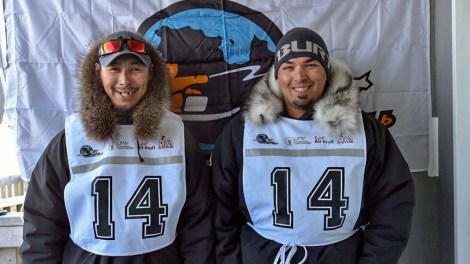 Musher: George Kauki Partner: Aloupa Kauki Community: Kuujjuaq